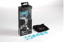 Monster® iSport Compete In-Ear Headphones - Blue