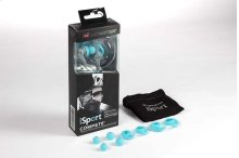 Monster® iSport Compete In-Ear Headphones - Blue