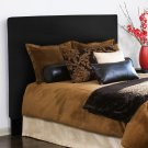 Twin Slipcovered Headboard Avanti Black Product Image