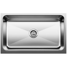 Blanco Magnum Large Single Bowl Sink With Apron - Satin Finish