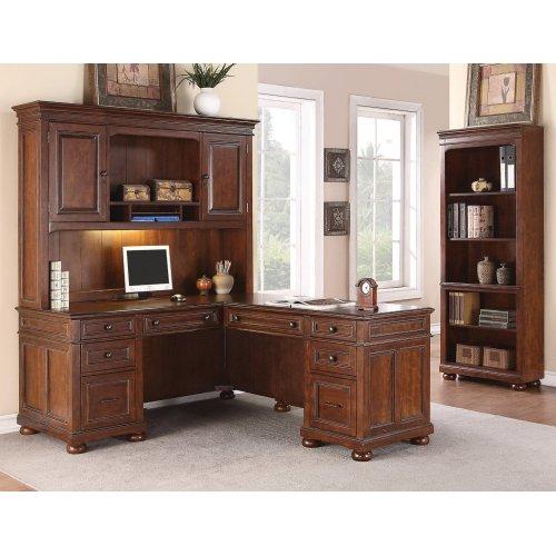 American Heritage L-Shaped Desk