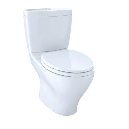 Aquia II Dual Flush Two-Piece Toilet, 1.6 GPF & 0.9 GPF, Elongated Bowl - Cotton