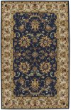 Eloquent Garden Navy Hand Tufted Rugs
