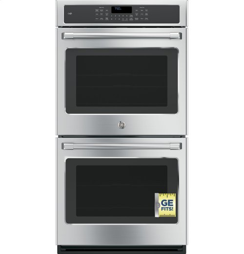 """GE Café Series 27"""" Built-in Double Wall Oven with Convection"""