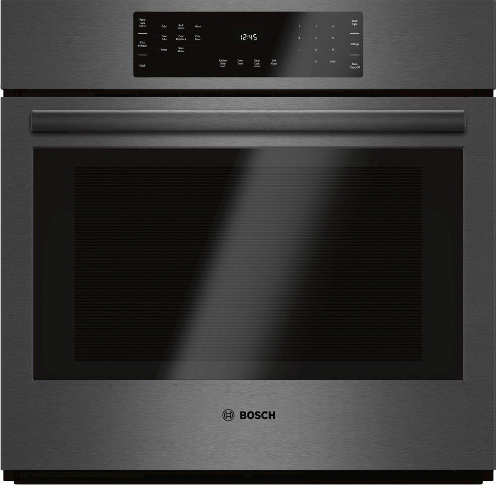 hbl8442ucbosch 800 series 30 single wall oven hbl8442uc black rh hamaiappliance com bosch cooker hood user manual Bosch Cookers with Digital Panel