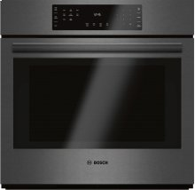 "800 Series 30"" Single Wall Oven, HBL8442UC, Black Stainless Steel"
