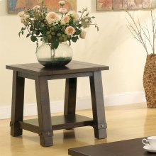 Windridge - Angled Leg Side Table - Sagamore Burnished Ash Finish