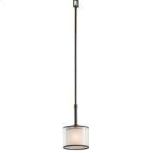 Lacey Collection Lacey 1 Light Mini Pendant - Mission Bronze