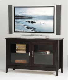 "48"" TV Stand with Glass Doors"