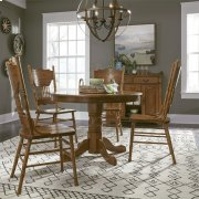 Optional 5 Piece Round Table Set Product Image