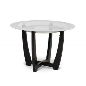 Steve Silver Co.Verano 45 inch Glass Top Table