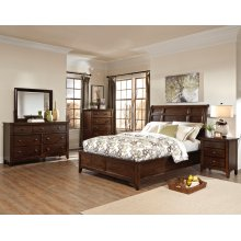 Jackson Sleigh King Bed-Standard RS