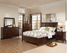 Jackson Sleigh Queen Bed-Standard FB