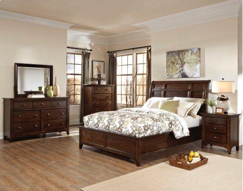 Jackson Sleigh Queen Bed-Standard Headboard