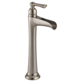 Single-handle Vessel Lavatory Faucet With Channel Spout