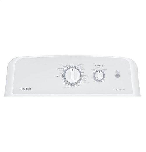 Hotpoint® 6.2 cu. ft. Capacity aluminized alloy Gas Dryer