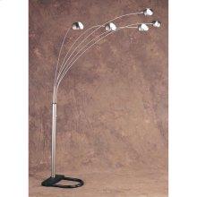 """93""""h 5 Arm Arc Floor Lamp"""