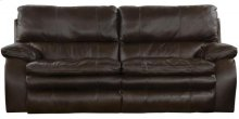 Verona Lay Flat Reclining Sofa - Chocolate (1283-9)