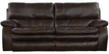 Verona Lay Flat Reclining Sofa - Chocolate (1283-9)