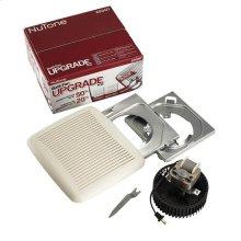 Bath Fan Upgrade Kit 60CFM; Ventilation Fan with White Grille