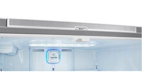 Super- Capacity French Door Refrigerator w/Door-in-Door® & Bluetooth® Speaker