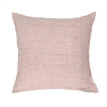 Lemmy Linen Feather Cushion Purple 20x20