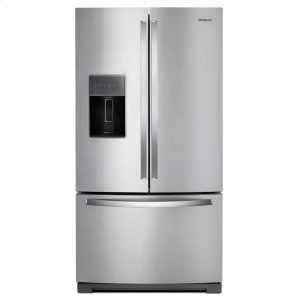 36-inch Wide French Door Refrigerator - 27 cu. ft. - FINGERPRINT RESISTANT STAINLESS STEEL