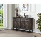 4 Drw 4 Dr Media Credenza Product Image
