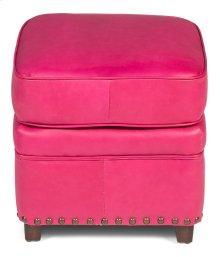Papa's Footstool, Fuschia Pink