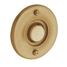 Vintage Brass Round Bell Button