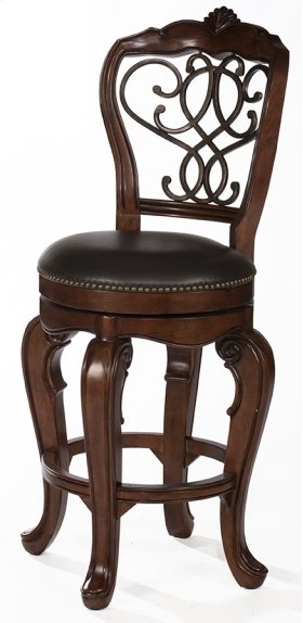 Burrell Swivel Bar Stool