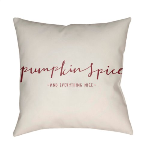 "Pumpkin Spice PKN-001 18"" x 18"""