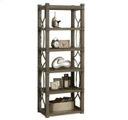 Dara II Etagere Gray Wash finish Product Image
