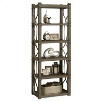 Dara II Etagere Gray Wash finish