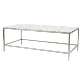 Marble Top(FRAME SOLD SEPARATELY), Shea Coffee Table