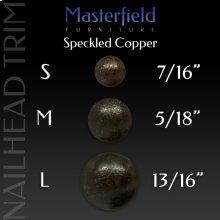 Speckled Copper Nail Head Trim