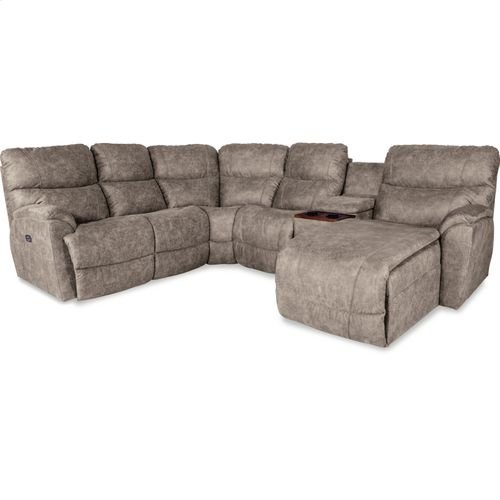 Trouper Sectional - La-Z-Boy Reclining Sofa with Chaise Sectional