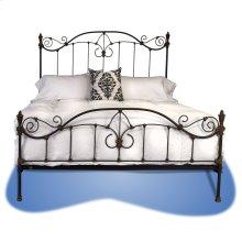 Estate Iron Bed - #146
