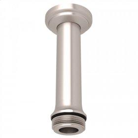 """Satin Nickel Perrin & Rowe 4"""" Ceiling Mount Shower Arm"""