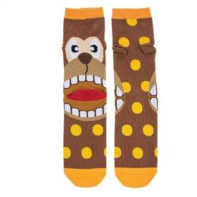Monkey Heel Socks - Women's Size 9-11