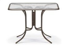 "32"" x 56"" Rectangular Bar Height Table w/ hole Ogee Rim"
