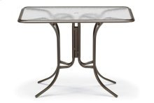 "32"" x 56"" Rectangular Bar Height Table w/ hole Ogee Rim"