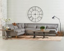 Magnolia Home By Joanna Gaines 55525611 41-41 3-PC Chisel Sectional Sofa