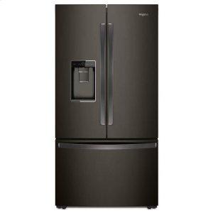 Whirlpool Whirlpool® 36-Inch Wide Counter Depth French Door-Within-Door Refrigerator - 24 Cu. Ft. - Black Stainless