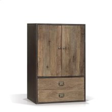 Norita Industrial Cabinet with 2 Doors, 2 Drawers