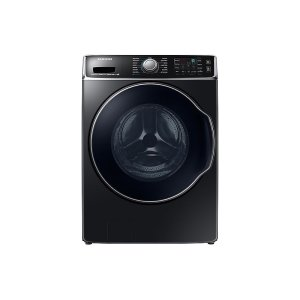 Samsung5.6 cu. ft. Front Load Washer with SuperSpeed in Black Stainless Steel