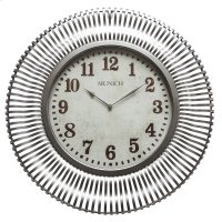 Munich in Silver Patina Wall Clock Product Image