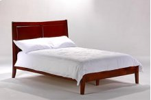 Saffron Bed in Cherry Finish