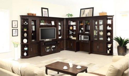 2pc Library Hutch & Desk