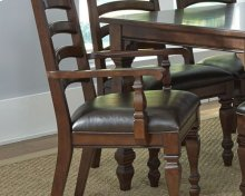 Ladder Back Arm Chair